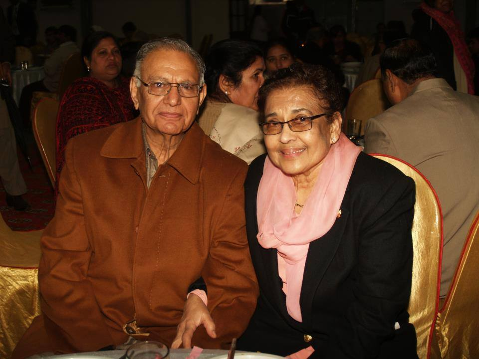 Dr Ernest Lall and Pramila Lall